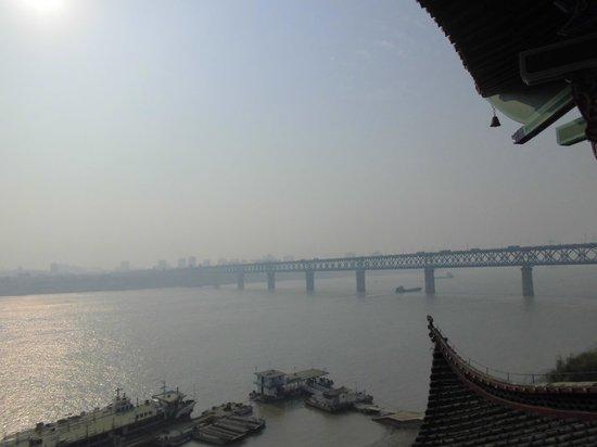 Qingchuan Cabinet : 長江大橋の眺め