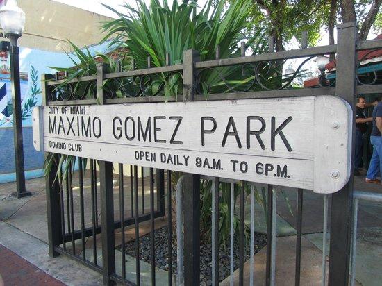 Little Havana: Maximo Gomez Park