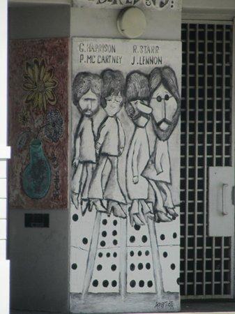 Little Havana: Beatles display