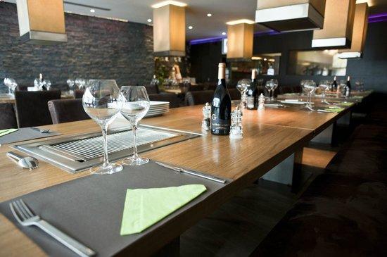 L'effet Boeuf : Table avec Grill