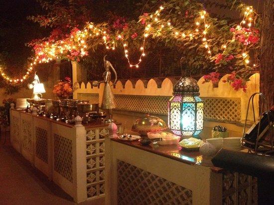The restaurant at Dera Rawatsar