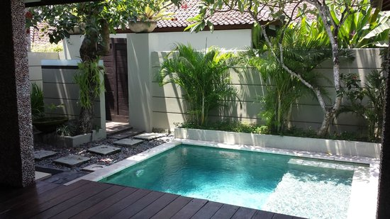 Grand Akhyati Villas and Spa: Private pool in the one bedroom villa