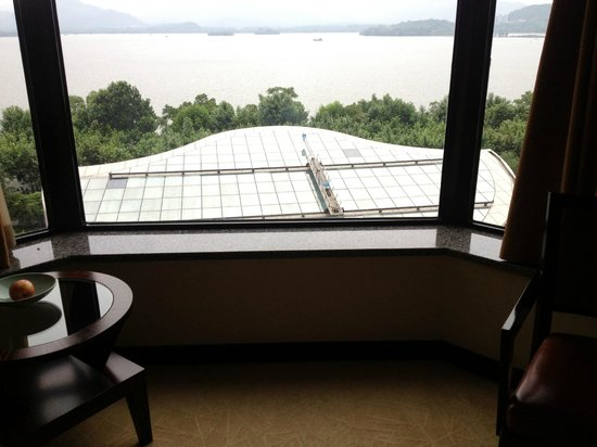 Hyatt Regency Hangzhou: Вид из номера