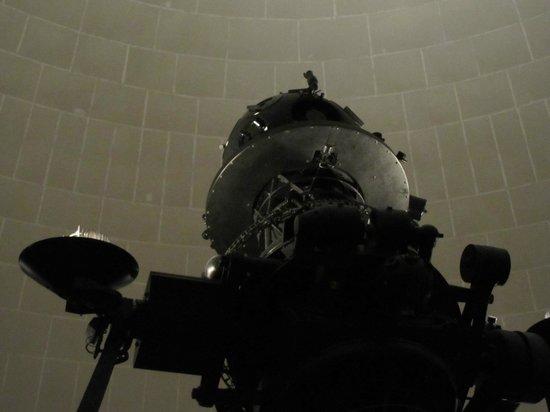 Civico Planetario Ulrico Hoepli: particolare della volta