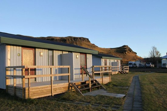 Hotel Geirland: Some of the cabins.