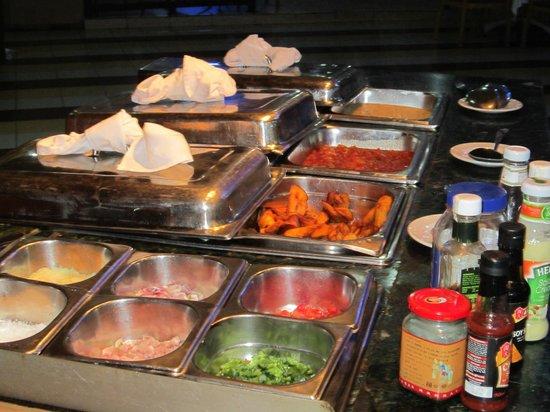 Nike Lake Resort: breakfast in Nike Lke Resort