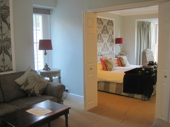 """The Lake Country House & Spa: The """"Heron"""" bedroom suite"""