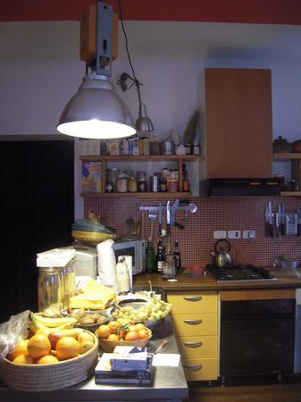 B&B La Terrazza alla Ghiacciaia : cucina