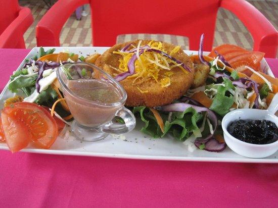 Le Toucan : camembert frit