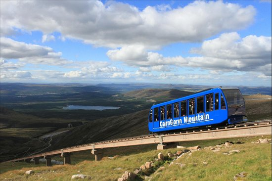 Aviemore, UK: Funicular Railway