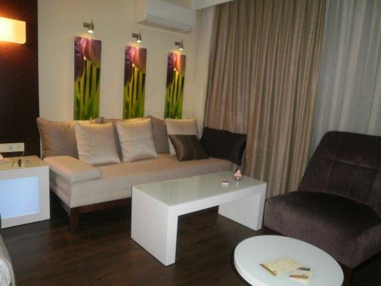 Tusan Beach Resort: notre beau coin salon