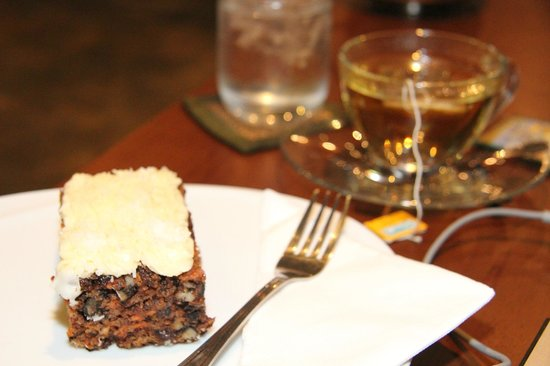 Destiny Cafe & Restaurant: Carrot cake - my favorite. A cure for an incurable sweet tooth.