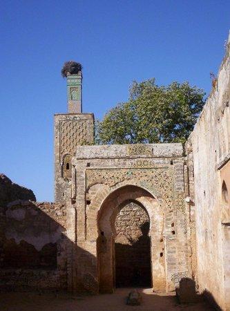 Chellah: Uno dei portali d'ingresso