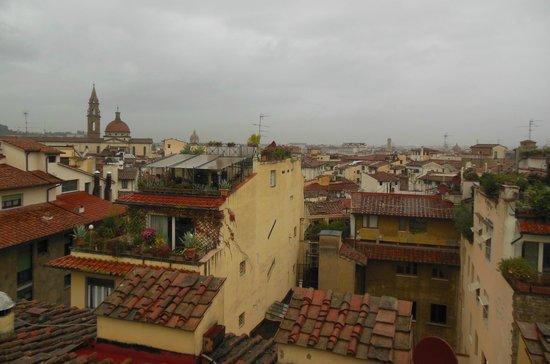 Hotel Restaurant  La Scaletta: Tetti di Firenze 2 (peccato per il tempo...)