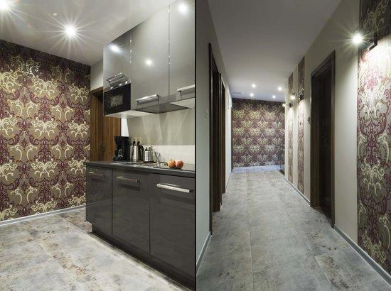 Sodispar Serviced Apartments: Hallway/kitchen Lubelska aparthotel