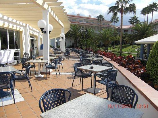 Hotel Riu Arecas: Riu Arecas terrace