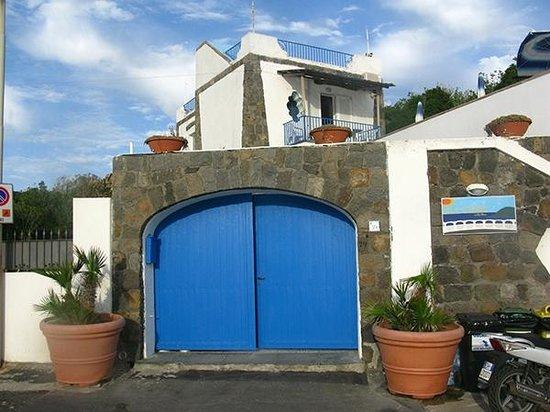 Ворота в Аппартаменты La Rotonda Sul Mare