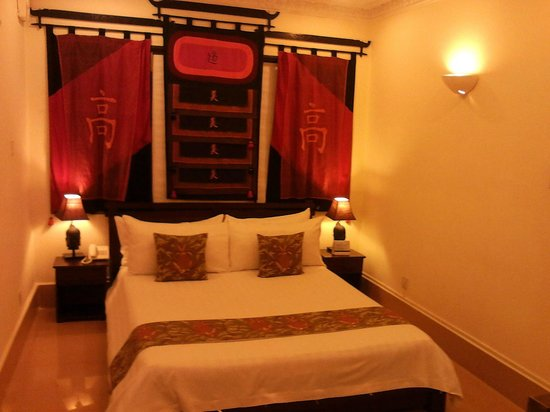 Bougainvillier Hotel: The separate bedroom