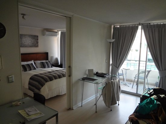 Departamento Amoblado Costa Nueva de Lyon: nosso apartamento !