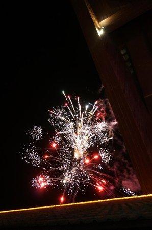 Club Med Phuket: fireworks on saturday nights only!