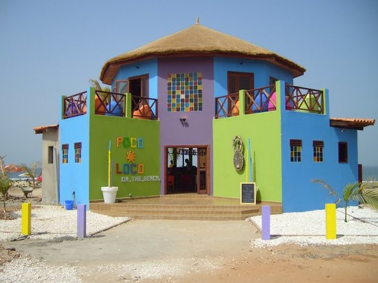 Poco Loco: Front Entrance from the New Kololi Strip