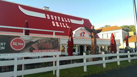 Carte Buffalo Grill Tinqueux.Buffalo Grill Reims Front Picture Of Buffalo Grill