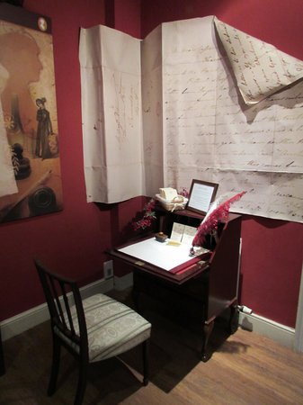 The Jane Austen Centre : Desk