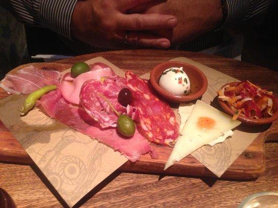 Jamie's Italian: Leuk opgediend, lekker.