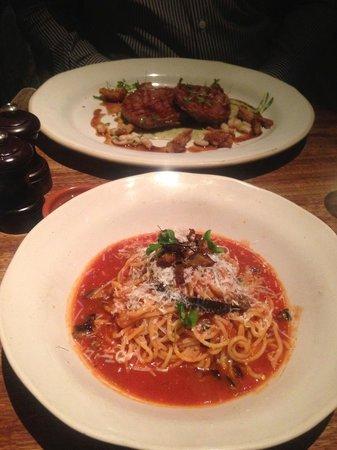 Jamie's Italian: Vlees lekker, spaghetti smakeloos