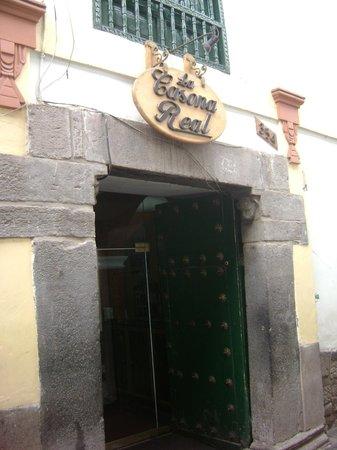 La Casona Real Hotel: Entrada principal