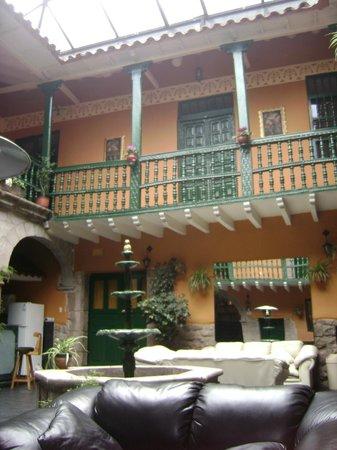 La Casona Real Hotel: Terraza central