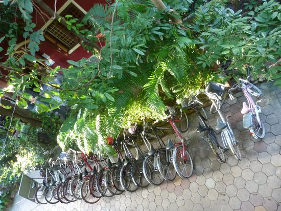 Bou Savy Guest House: bycicles can be rented