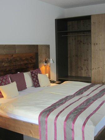 Boutique-Hotel Alemannenhof: Comfortable bed