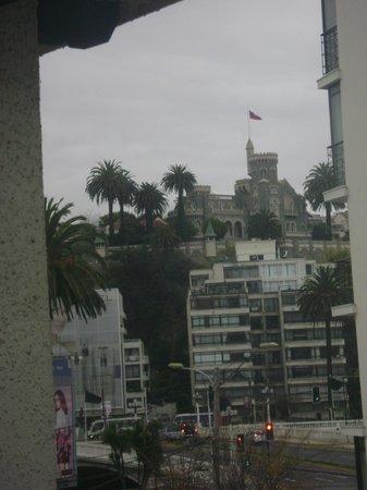 Hotel Monterilla: Vista desde la ventana de mi habitación