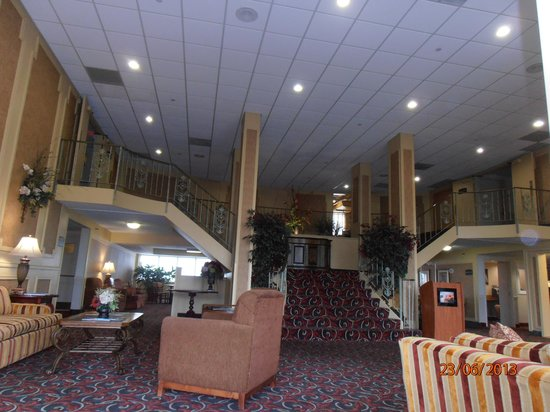 Comfort Inn St Louis - Westport: Foyer