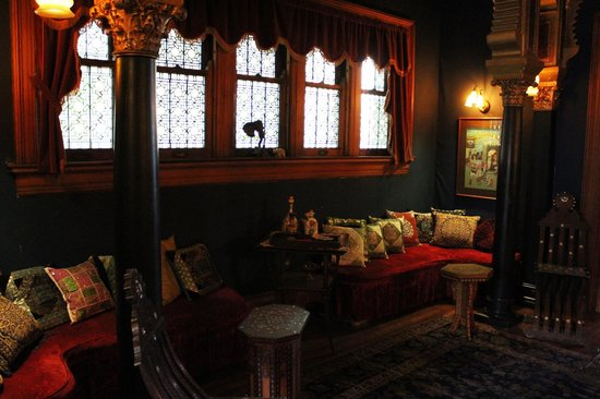 Rockcliffe Mansion: Tiffany Turkish room