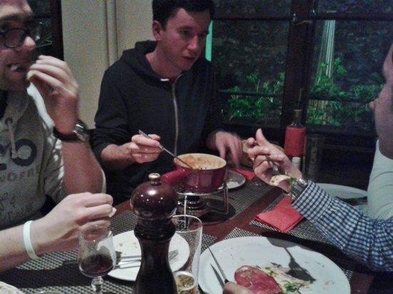 Restaurant Le Flore: si mangia !