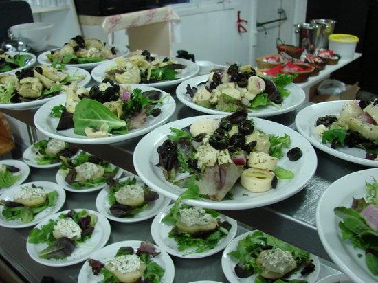 restaurant du cap a la mer : petit entrée