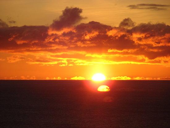 restaurant du cap a la mer : Nos lever de soleil