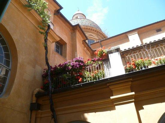 Hotel Rossetti : Terrace Area