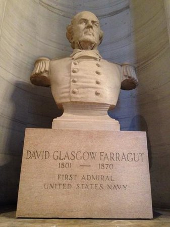 Tennessee State Capitol: Admiral Farragut