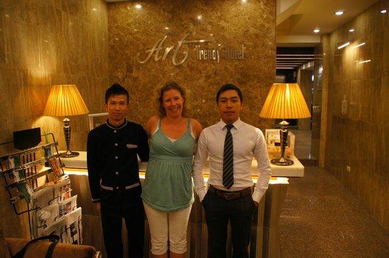 Golden Art Hotel: Geweldig personeel