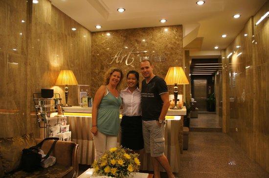 Golden Art Hotel: Geweldig vriendelijk personeel