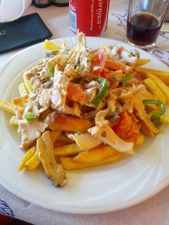Pizza Subito: Gyros Chicken A la Crème!