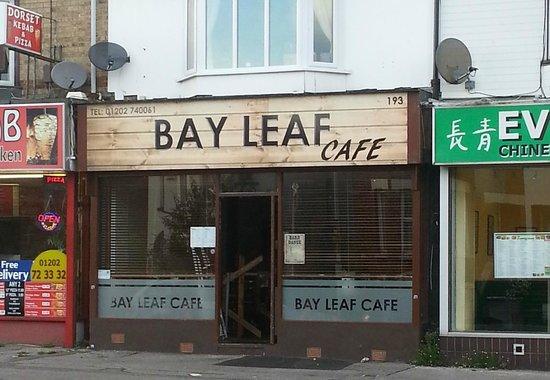 Bay leaf cafe poole: front