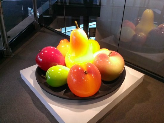 The Corning Museum of Glass: Giant Glass Fruit