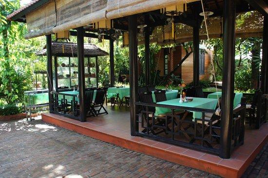 Betel Garden Villas: binnenplaats
