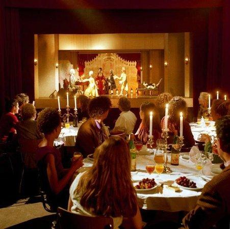 dinner show amsterdam