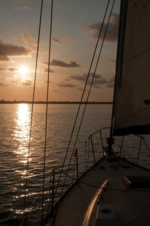 New Moon Sailing: In the sound