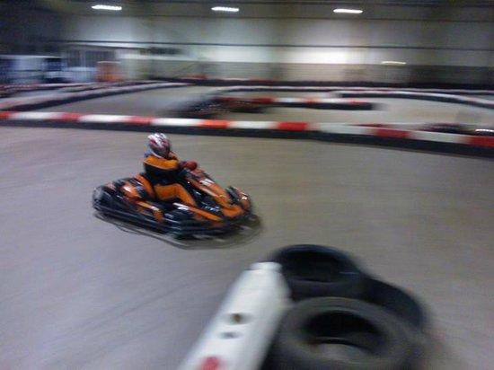 Xtreme Karting and Combat Edinburgh: going sideways at xtreme karting